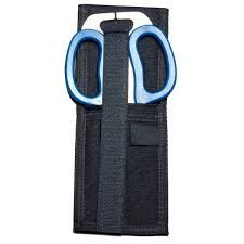 """http://www.chasetactical.com/product.aspx?id=230  Multi-Purpose Rescue Shears with Holster - Multi Purpose Rescue Shears with Holster is an 11-in-1 tool that is lightweight yet durable. It's made of hardened stainless steel with high impact reinforced Blue plastic handles. The handles are also contoured for a comfortable but powerful grip. These rescue shears weight approximately 5 oz. and measure 8"""" long."""