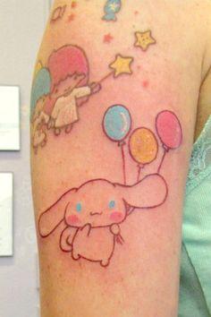 Pajamie's Fresh Sanrio Cinnamoroll Tattoo