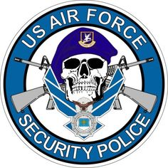 air force security forces skull - Google Search