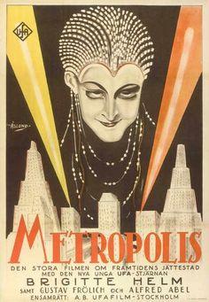 Metrópolis (1927), dirigida por Fritz Lang es considerada uno de los máximos exponentes del expresionismo alemán en el cine.