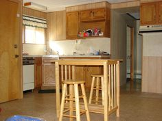 Kitchen in farmhouse on 47 acre Northampton County farm