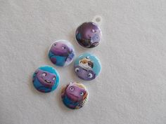 Set of 5 OH from Home/ Dreamworks zipper by GrandmasBowsonETSY