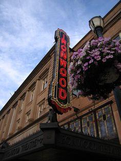 The historic Ironwood Theatre  Ironwood, Michigan