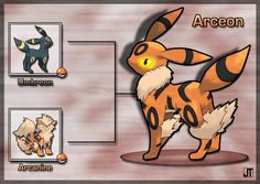 DeviantArt: More Like Poke Fusion - Arbunny by PokeFusionMan Solgaleo Pokemon, Pokemon Fusion Art, Pokemon People, Pokemon Pokedex, Cool Pokemon, Pokemon Cards, Pikachu, Satoshi Pokemon, Deviantart Pokemon