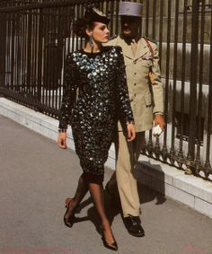 1984-85 - Yves Saint Laurent Couture by Helmut Newton -