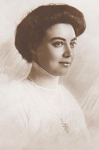 The Princess Olga of Hanover & Cumberland (1884-1958). She was a daughter of nominal Crown Prince Ernst August and his wife, The Princess Thyra of Denmark. She never married or had children.