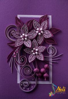 Quilling by Neli!