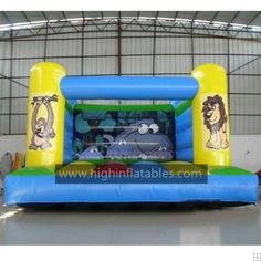 Inflatable animal bouncer