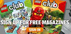 GRATIS 2 años de la Revista LEGO Club!