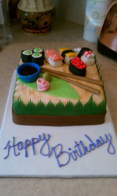 Sushi Cake- or maybe this one?