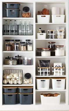 Reveal 28 Amazing Ideas for Small Kitchen Organizations … – # Amazing # Unveil … 28 amazing small kitchen organization ideas expose… – - Own Kitchen Pantry Kitchen Organization Pantry, Home Organisation, Organized Pantry, Open Pantry, Organization Ideas For The Home, Refrigerator Organization, Pantry Ideas, Pantry Shelving, Bathroom Closet Organization