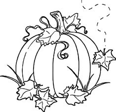 Awesome Free Autumn Pumpkin Coloring Page Colored Pencil Fall Coloring Pages, Free Coloring, Adult Coloring Pages, Coloring Sheets, Coloring Books, Pumpkin Images, Pumpkin Pictures, Halloween Drawings, Halloween Painting