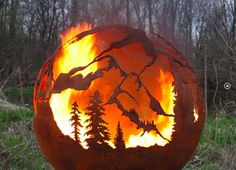 18 Spectacular Handcrafted Fire Pits