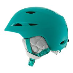Matte Dynasty Green Shibori Snowboarding Style, Ski And Snowboard, Snow And Rock, Ski Helmets, Ski Gear, 2016 Trends, Outdoor Outfit, Bicycle Helmet, Skiing