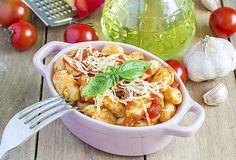 Gnocchi met courgette-tomatensaus