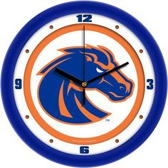 NCAA Boise State Broncos Traditional Wall Clock