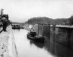 The Panama Canal, Circa 1913