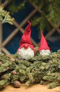 Our hand-made figures are crafted from felt and real fleece with a bell at the top of the felt cap. Made in a small workshop outside of Helsinki, they are small treasures for the holiday home. Christmas Gnome, Scandinavian Christmas, Christmas Stuff, Christmas Ornament Crafts, Holiday Decor, Saunas, Handmade, Finland, Mushrooms