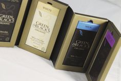 G's Chocolate Book packaging by Nabil Zeineddine, via Behance