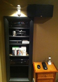 Home Theater Equipment Rack 1/2012