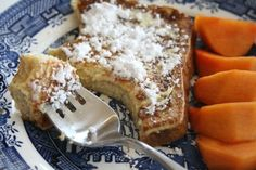 Use up that quart of eggnog in your refrigerator. Eggnog French Toast -- 'Tis the Season! | ShockinglyDelicious.com