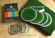 My Cup Runneth Over: DIY FOOTBALL COASTERS - POTTERY BARN KNOCK OFF