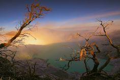 Beautiful Ijen Crater