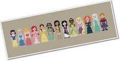 Disney cross stitch pattern | The 33 Best Geeky Things To Buy On Etsy