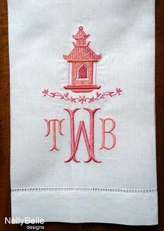 Monogram Cute Towels Make It Pinterest Monograms Towels - Personalized bath towels for small bathroom ideas