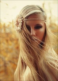 Braided hippie headband.