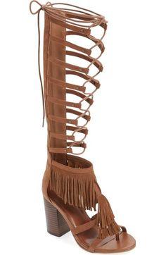 MIA 'Ricarda' Gladiator Sandal (Women) available at #Nordstrom