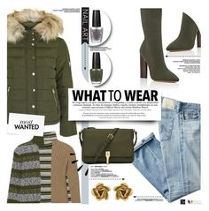 """What To Wear"" by yurisnazalieth ❤ liked on Polyvore featuring Topshop, Maison Margiela, AG Adriano Goldschmied, adidas Originals, Elizabeth and James, Old Navy, OPI and Oscar de la Renta"