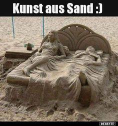 Kunst aus Sand :) Cool Illusions, Beach Hacks, Ice Art, Snow Art, Wall Art Designs, Metal Wall Art, Unique Art, Wall Art Decor, Cool Pictures