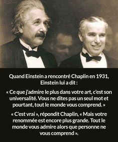 Einstein and Chaplin Meaningful Quotes, Inspirational Quotes, Quote Citation, Lol, French Quotes, Charlie Chaplin, Sweet Words, Motivation, True Stories
