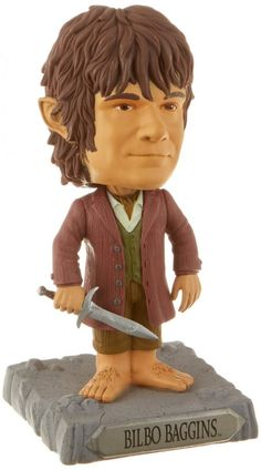Bilbo Baggins Bobblehead Character Figurine