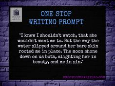 One Stop For Writers Writing Prompt