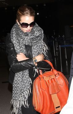 some serious scarf and handbag envy going on right now...
