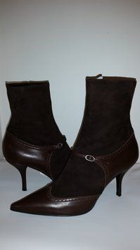 Casadei Suede/Leather Pointed Toe Brown Boots SALE! 10% OFF SELLER'S LIST PRICE. Sale percentage is paid by Tradesy. Size: 9.5New with tags 60% off Retail WAS $795.00 NOW $317.00 Free shipping!