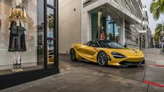 McLaren 720S Spider: Luxury Meets Performance on Rodeo Drive New Mclaren, Automotive Photography, Twin Turbo, Driving Test, Rodeo, Beverly Hills, Cool Cars, Super Cars, Spider