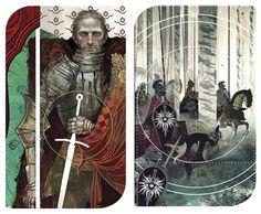 Dragon Age Inquisition Tarot - Commander Cullen & Forces