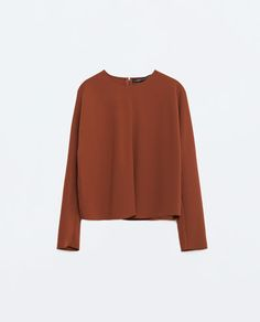 CROP TOP-View All-TOPS-WOMAN-SALE | ZARA United States