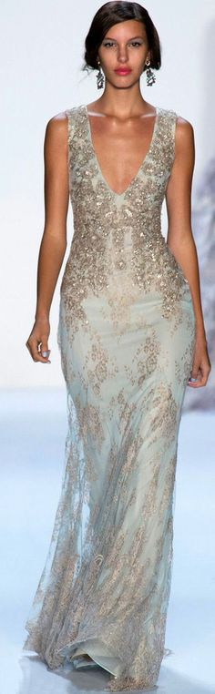 Badgley Mischka S S 2014 NYFW Elegant Dresses 4d8bbb8d3cf29