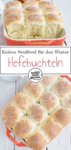 Buchteln (Rohrnudeln) Great simple recipe for pasta. The Buchtel recipe comes from my grandmother and awakens childhood memories. The delicious yeast pastry is known as Buchteln, Rohrnudeln or noodles. Pasta Recipes, Baking Recipes, Cookie Recipes, Best Pancake Recipe, Pancakes From Scratch, Pasta Bake, How To Cook Pasta, Cooking Time, Food And Drink