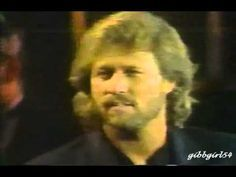 """Barry and Maurice Gibb perform """"Words"""" at Love and Hope in 1987"""