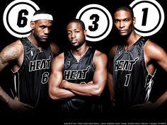Miami Heat Top Three