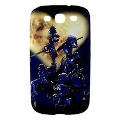Samsung Galaxy S3 Case, Galaxy S3 Hard Case- Kingdom Hearts Anime Manga Samsung Galaxy S3 Case