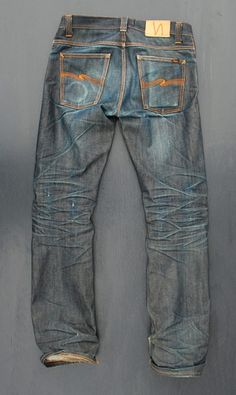 Nudie jeans. Need to check these, been told they fit bigger legs without going baggy