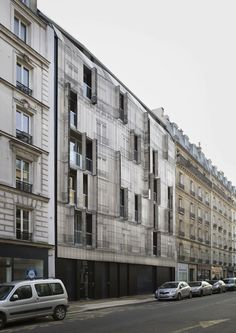 Completed in 2017 in Paris, France. Images by Romain Meffre & Yves Marchand . At 85 Championnet there was an empty plot of land, with a plan that was too convoluted to be constructed in a classic way, like the rest of the...