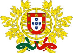 Portugal - Coat Of Arms♦️More Pins Like This At FOSTERGINGER @ Pinterest ♦️