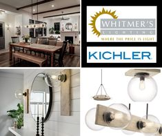 Kichler's Marquee Collection brings a Contemporary Spin to Modern Farmhouse Design